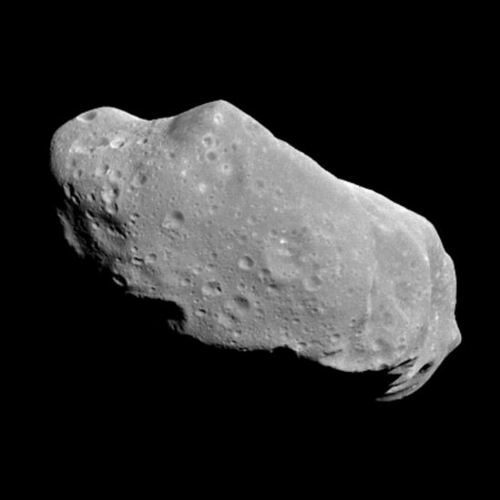 Ida asteroid by NASA/JPL