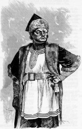 Sketch of Attila the Hun