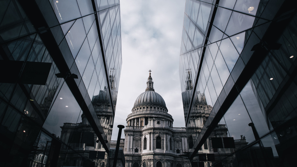 Contrasting Architecture—old and new by Hieu Vu Minh via Unsplash